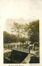 Early Printed Postcard Posted 1906 Headgates of the Raceway Wilmington DE
