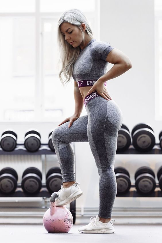 High Waist Leggings With Pockets Gymnastics Outfits Fitness