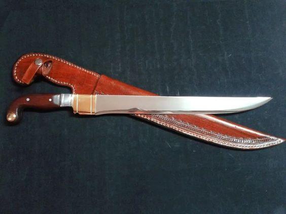faca igual as antigas sorocabanas feita com aço inox 420
