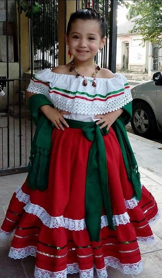 Vestuario Mexicano De Niña Vestidos Mexicanos Para Niña