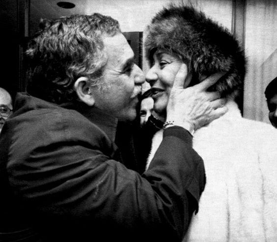 Gabriel García Márquez y su esposa  Mercedes Barcha Pardo:
