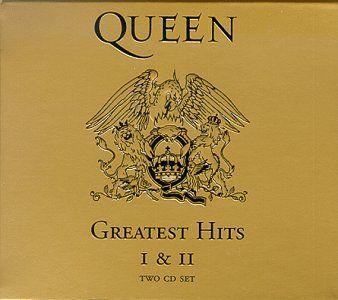 Queen Queen: Greatest Hits I & II Album Cover | Must-Have ...