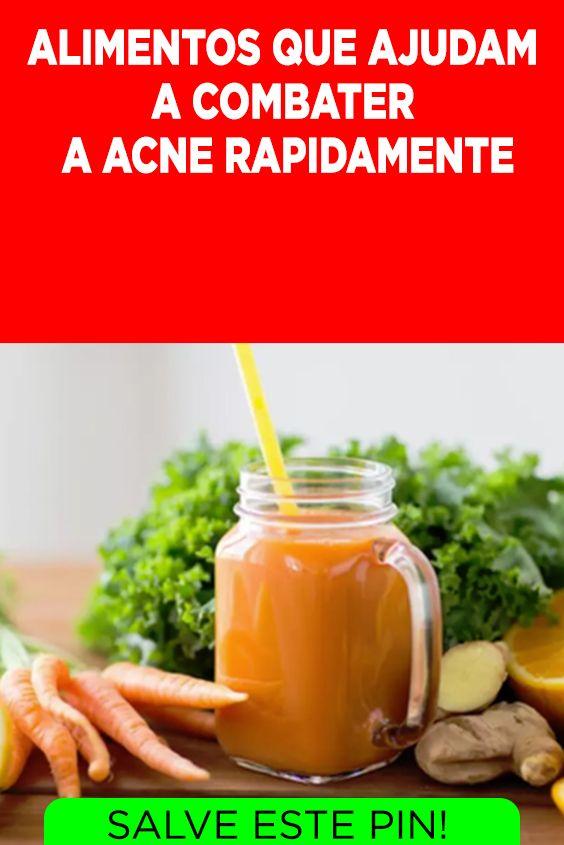 Alimentos Que Ajudam A Combater A Acne Acne Alimentos Espinhas