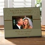 Personalized Wedding Picture Frame - Father Of The Bride