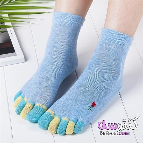 جوارب نسائية 2021 شرابات حريمى 2021 موضة الجوارب الشتويه لهذا العام 2021 Fashion Socks