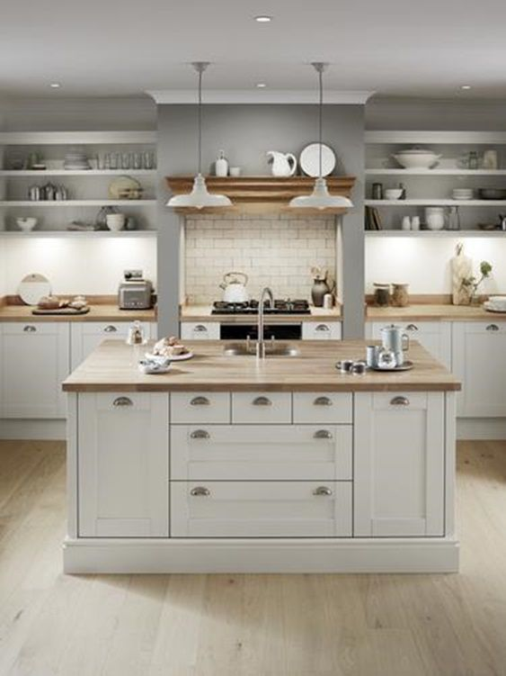 Shaker Kitchen Ideas In 2020 Shaker Kitchen Cabinets Kitchen