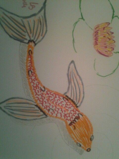 Mon premier poisson japonais