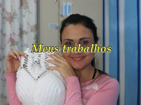 Top Star (top cropped em crochê) - YouTube