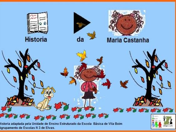 iistoria adaptada pela Unidade de Ensino Estruturado da Escola Básica de Vila Boim grupamento de Escolas H 3 de Elvas.