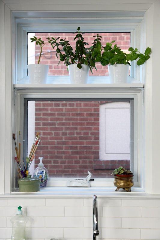 Kitchen Window Shelf Diy I Will Need To Add A Shelf To