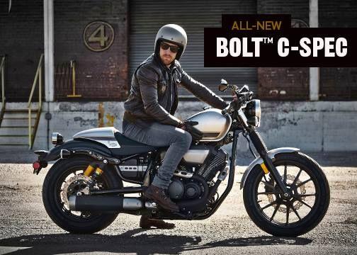 an instant café-racer classic, the all-new bolt c-spec features