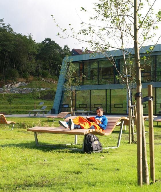 Arkitektur arkitektur school : Gallery of Nordahl Grieg High School / LINK arkitektur - 5 | High ...