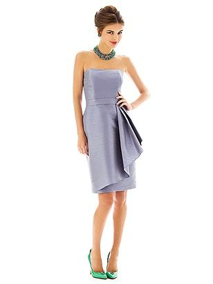 Alfred Sung Style D592 -- THIS IS ONE OF MY FAVORITE DRESSES!     http://www.dessy.com/dresses/bridesmaid/D592/