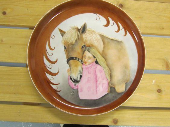 Ystävän tytär ja hänen hevosensa