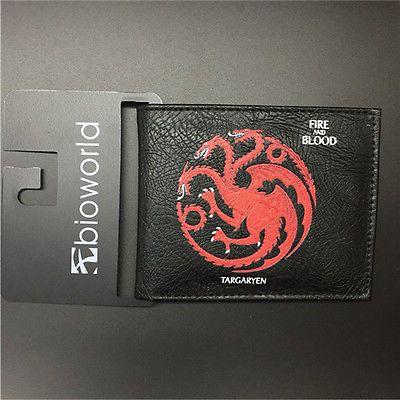 Game Of Thrones Houses Unisex Wallet - Targaryen House Wallet