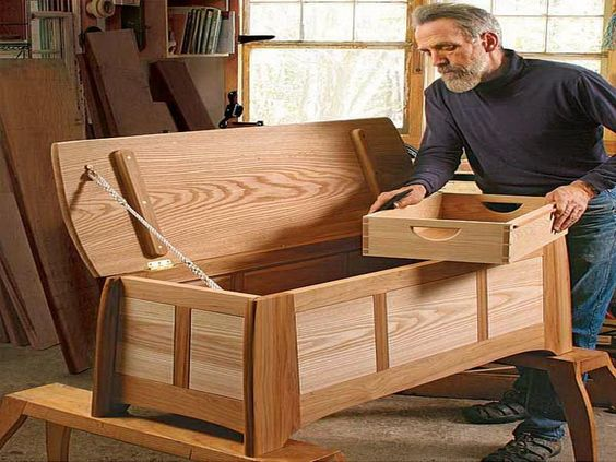 Woodwork Hope Chest Building Plans Pdf Plans Pinteres
