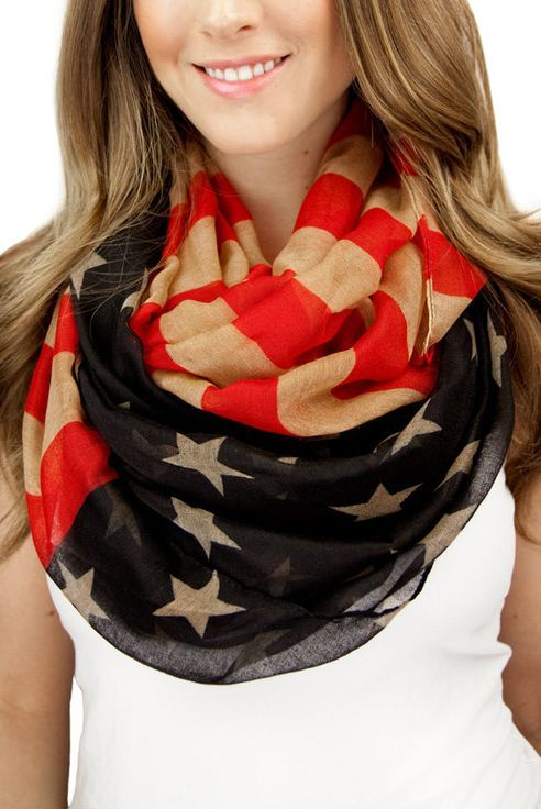 MUST SHARE Flag scarf...
