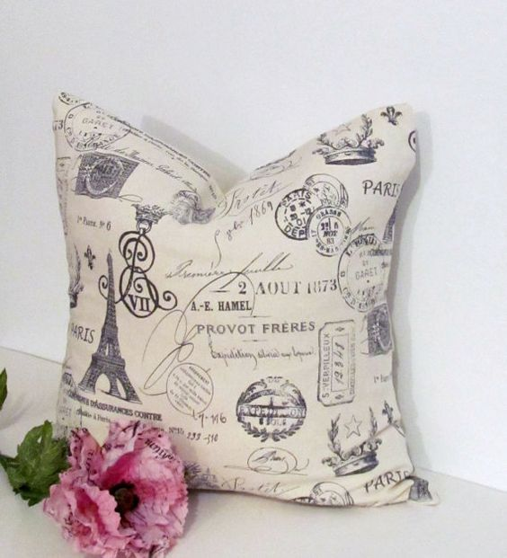 Throw Pillows With French Script : Pinterest The world s catalog of ideas