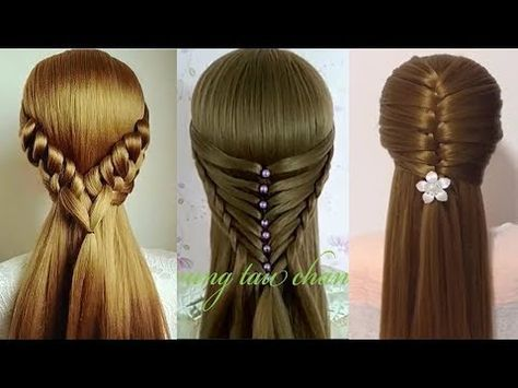 Como Hacer Peinados Faciles Y Bonitos Trenzas Faciles Y Bonitas Peinados Para Ninas 48 Youtube Hair Styles Hair Tutorial Pretty Braided Hairstyles
