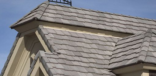 Less Expensive Than Clay Tiles Concrete Roof Tiles Are Also Heavy But Can Last A Long Time And Are Ve Concrete Roof Tiles Fibreglass Flat Roof Fibreglass Roof