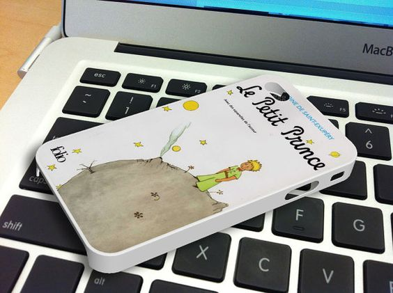 Le Petit Prince Book Cover iPhone 5 iPhone 4 / 4S Plastic Hard Case Rubber Soft Case