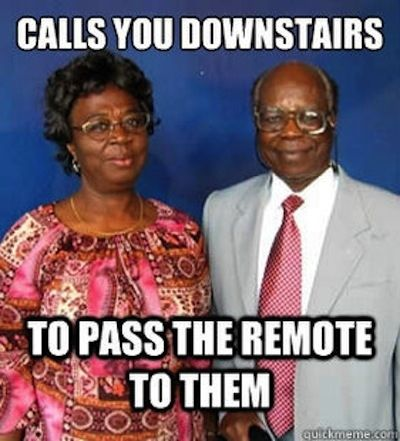 Growing up, your parents always lectured you about hard work. Meanwhile… #africankidproblems