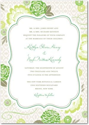 Contact LM Design for custom invitation design and printing!