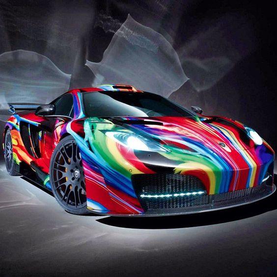 McLaren Artwork To Brighten Up Your Day