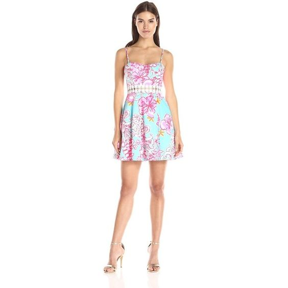Lilly Pulitzer Women's Lenore Dress ($178) ❤ liked on Polyvore featuring dresses, lilly pulitzer dresses and lilly pulitzer