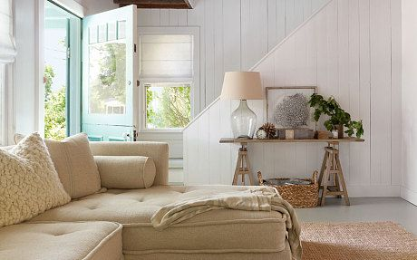 Natural textures abound in Jenny Wolf's Hamptons home