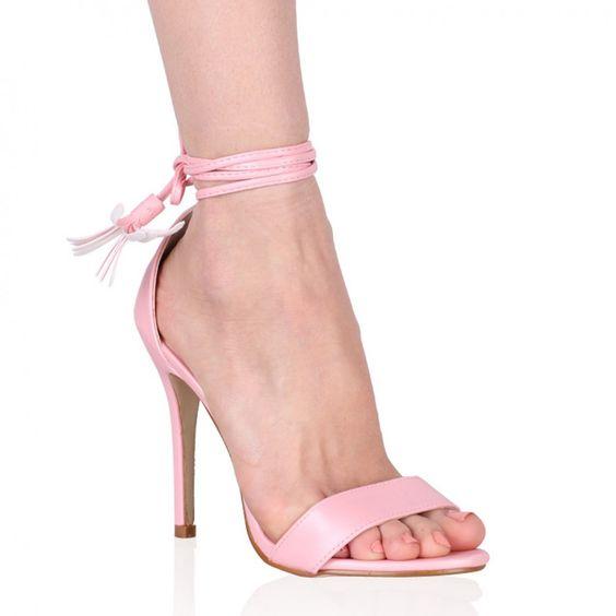 Juliette Stiletto Heels in Pink