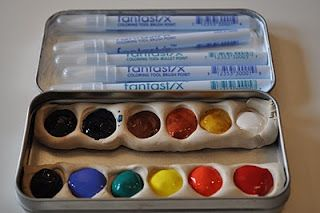 watercolors to go