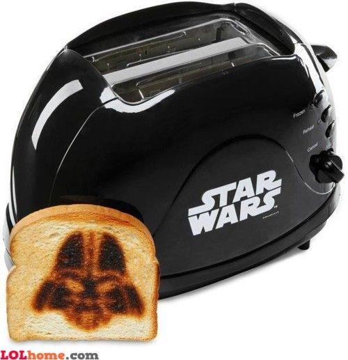 Star wars toast    #starwars #darthvader