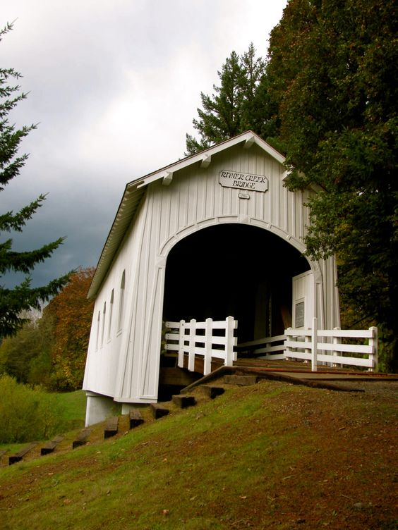 a covered bridge just minutes from my house.....Oregon