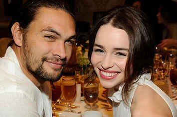 Jason Momoa Instagrammed The Cutest Message To Emilia Clarke