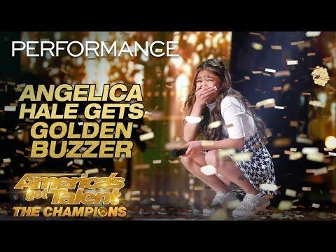 Angelica Hale Receives Golden Buzzer From Howie Mandel
