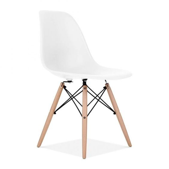 Charles Eames White DSW Chair