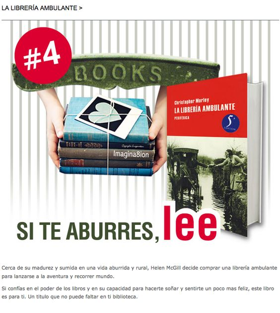 La librería ambulante; Christopher Morley