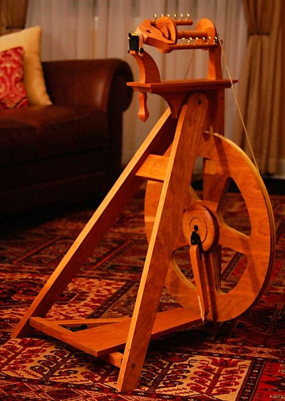 Oh, the spinning wheel of my dreams!