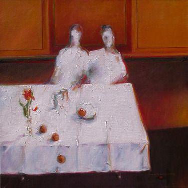 "Saatchi Online Artist: Joseph Hutchinson; Oil, 2013, Painting ""VOYAGE - POMPEII II"""