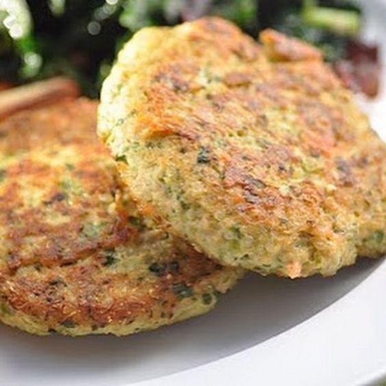 Hambúrguer de brócolis