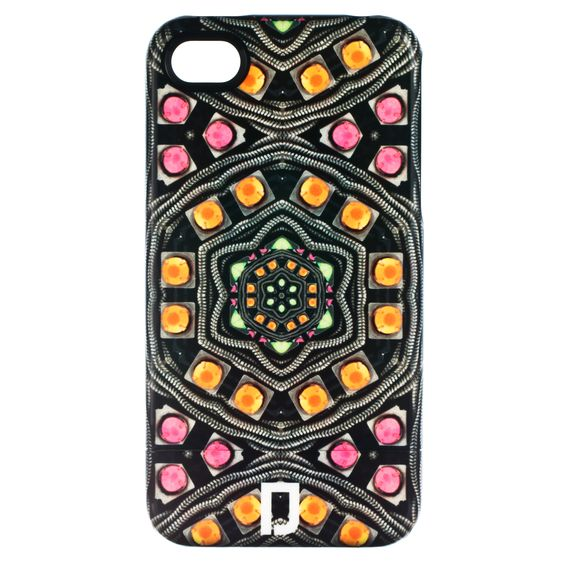 dannijo iphone case. love the psych-styled colors!