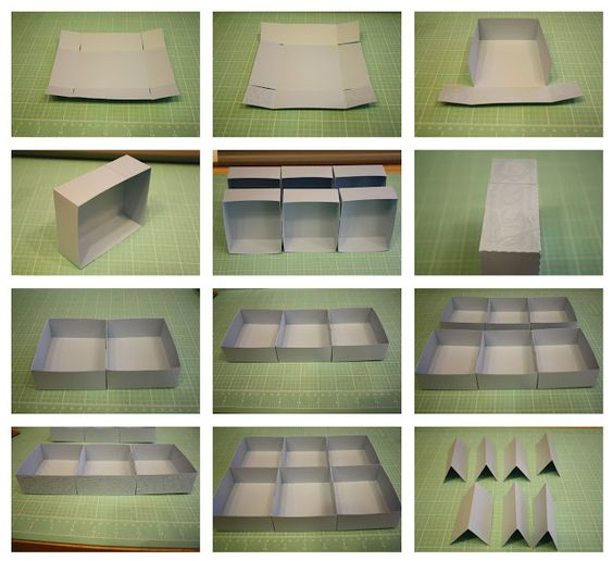 Six Section Storage Box