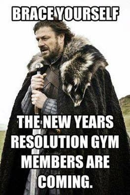 New Year's resolution gym memberships are coming!