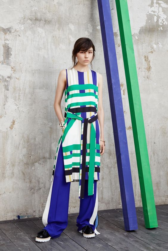 MSGM Resort 2016 - Collection - Gallery - Style.com #stripes