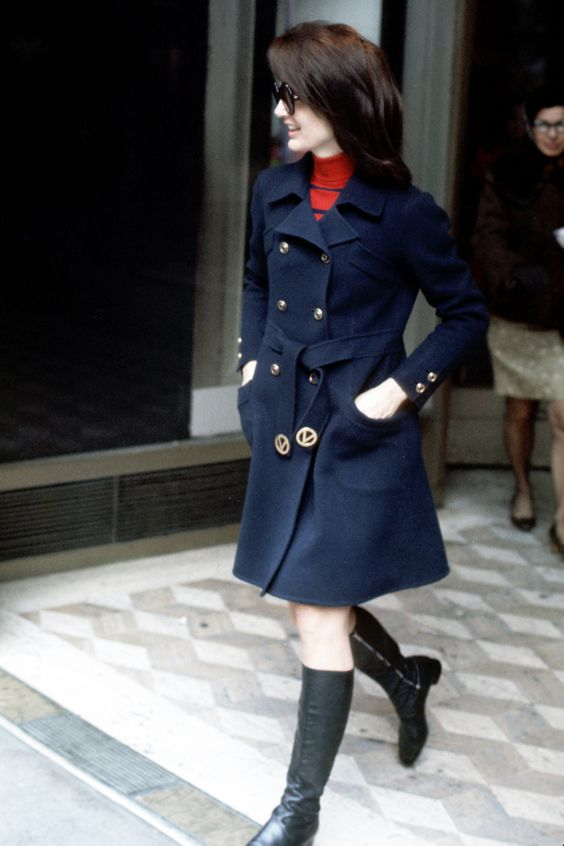 16 Style Lessons to Learn from Jackie Kennedy - Make Your Base Layer Stand Out from InStyle.com
