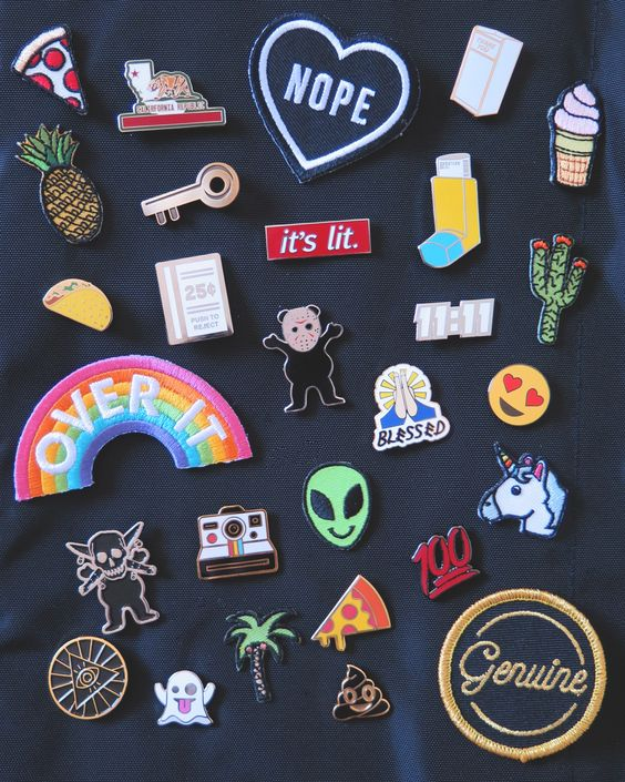 Pins 'n patches perfection