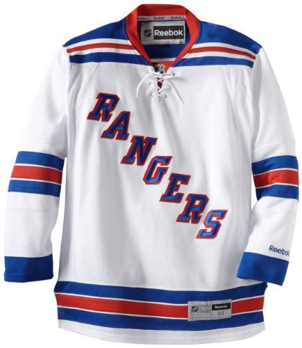 NHL New York Rangers Premier Jersey, White List Price: 	$125.00 Price: 	$104.99 - $129.9