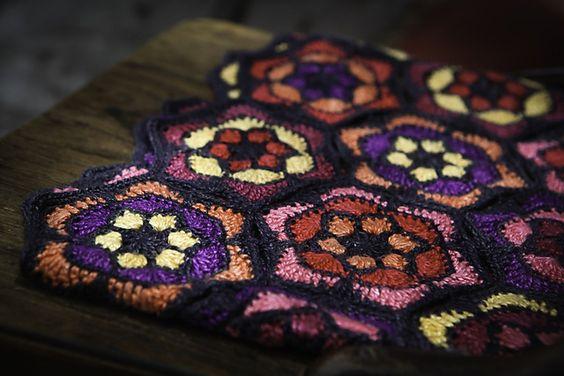 Ravelry: Frida Throw pattern by Yuli Nilssen