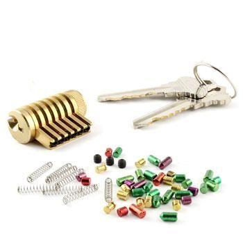 Dangerfield Infinitus Repinnable Practice Lock Reverse Action Tweezers Schlage Locks